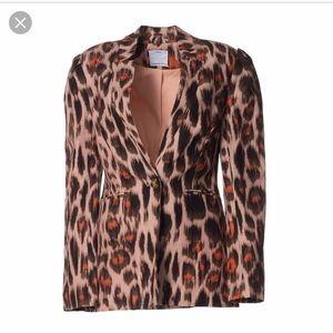 C/Meo Collective Actuate Blazer Nude Leopard